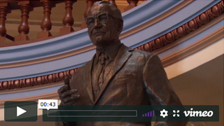 Barry Goldwater Statue Move Video