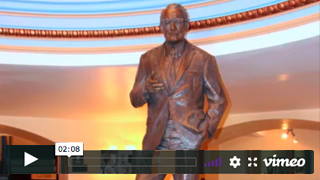 Moving Goldwater Statue Video