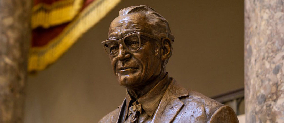 Craters & Freighters Phoenix Moves, Ships and Installs Goldwater Statue
